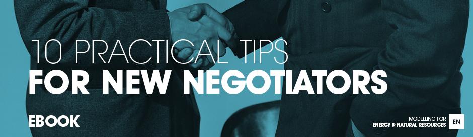 10 practical tips for new negotiators