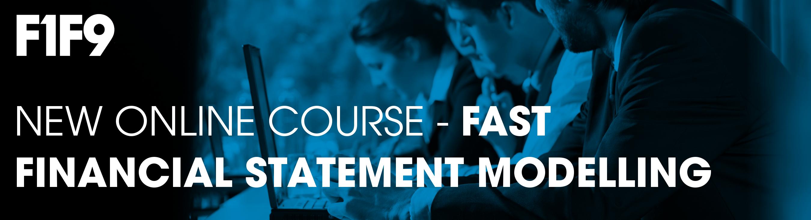 FAST Financial Statement Modelling online