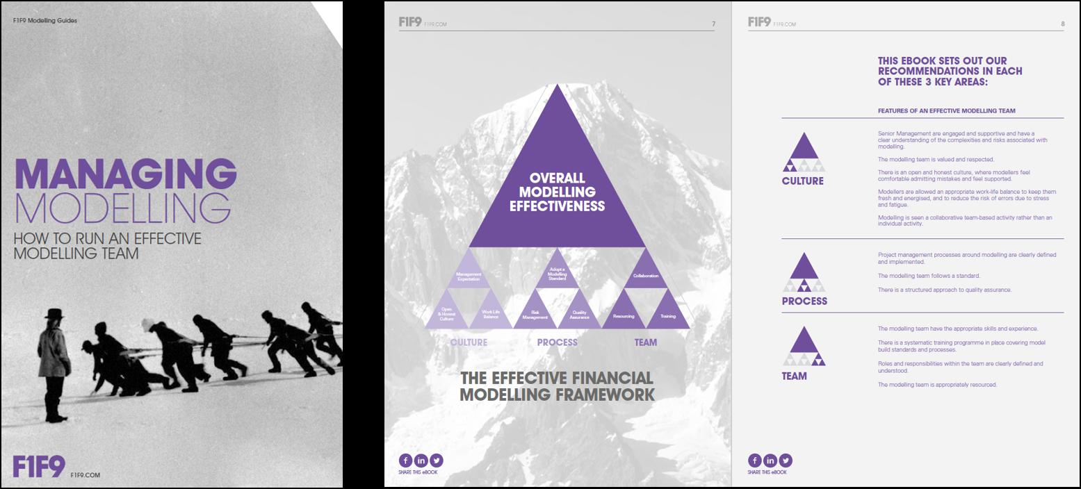 EFFECTIVE FINANCIAL MODELLING FRAMEWORK